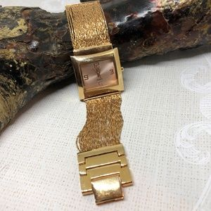 Watch New York & Company Square Face Fluid Gold